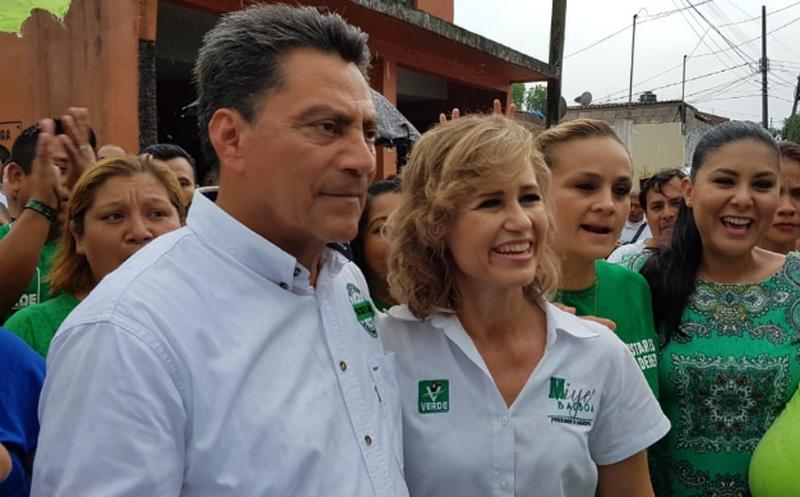 Cantón manifestó su apoyo a Obrador en un debate. (El Financiero)