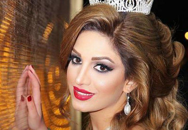 Fink Mohammed es kurda al igual que otros 30 millones de personas, pero es apenas la segunda Miss Kurdistán de la historia de su pueblo, del que lucha, desde su propia trinchera, por la independencia. (NTX)