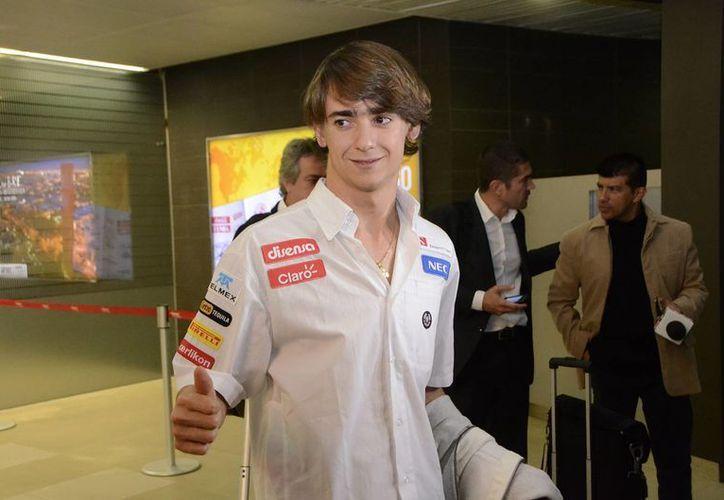 Gutiérrez mencionó  anteriormente que tal vez le lleve toda la temporada adaptarse a la F1. (Notimex)