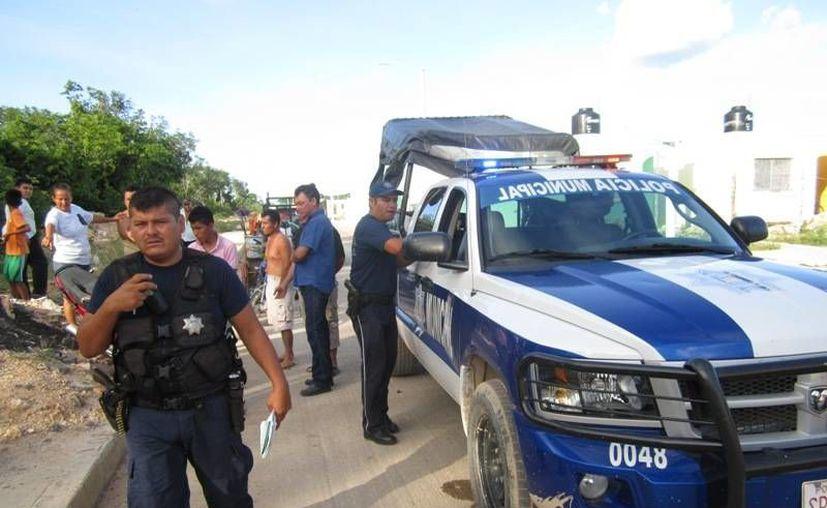 La policía municipal está limitada en el combate del narcomenudeo. (Harold Alcocer/SIPSE)