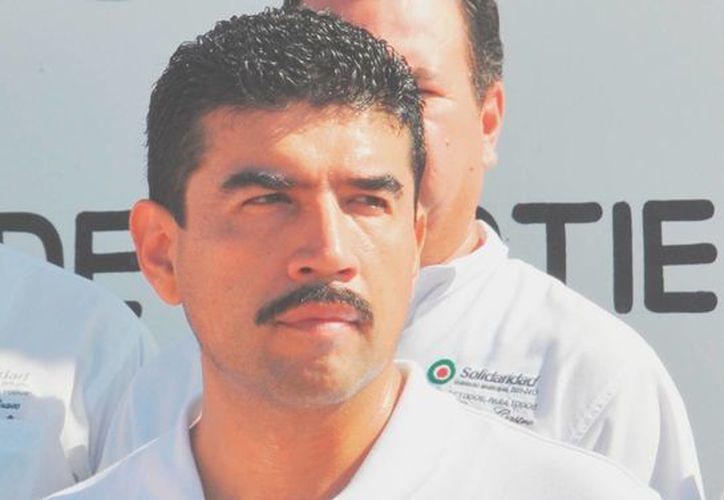 """Uri Carmona Islas dijo que """"no hay vuelta de hoja, fue un excelente año"""". (Adrián Barreto/SIPSE)"""