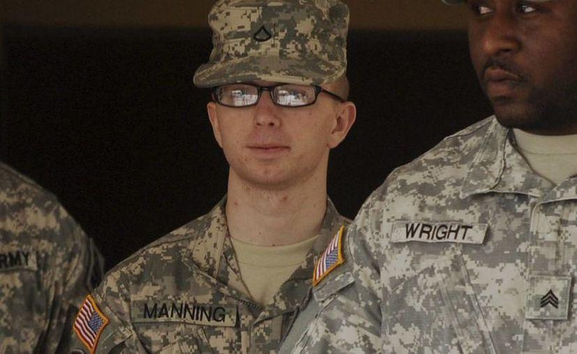 Manning fue declarado culpable de espionaje, robo, fraude informático y otros cargos. (Archivo/Agencias)