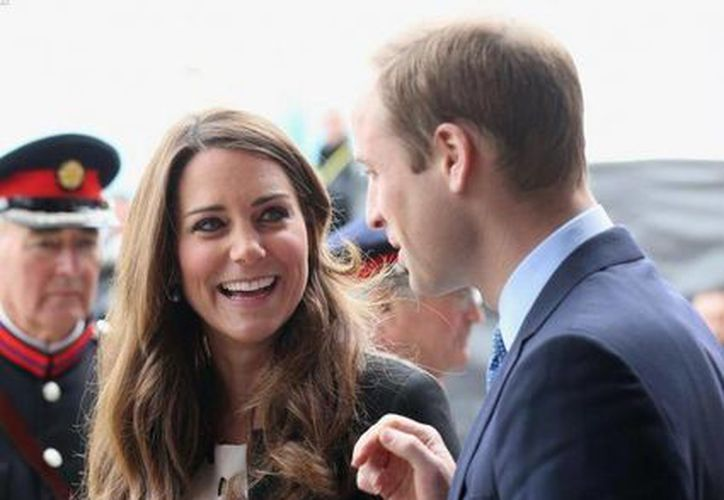 Los futuros papás: Kate Middleton y Guillermo. (melty.es)