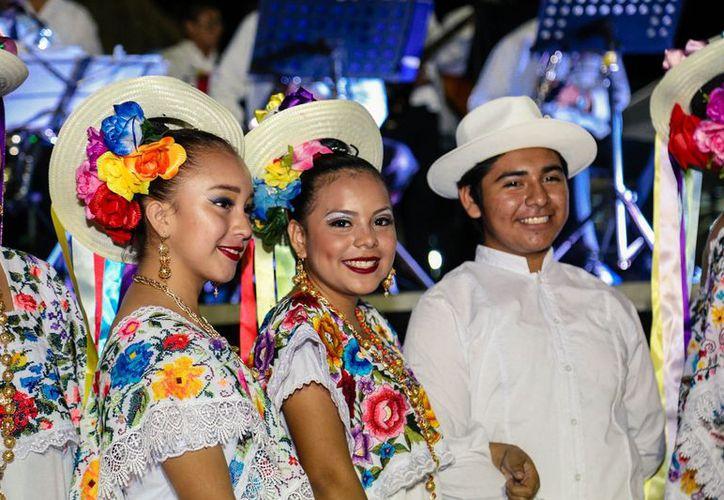 Un gran cierre se vivió en la Tradicional Fiesta Maya. (Redacción/SIPSE)