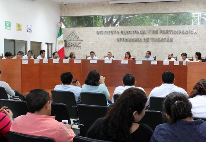 Este martes se llevó a cabo la sesión del Instituto Electoral y de Participación Ciudadana de Yucatán con respecto a las próximas elecciones locales. (Milenio Novedades)