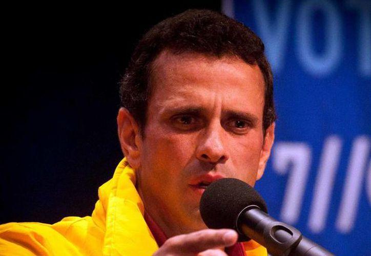 Capriles sólo dispondrá de 10 días para enfrentarse al oficialismo. (Notimex)