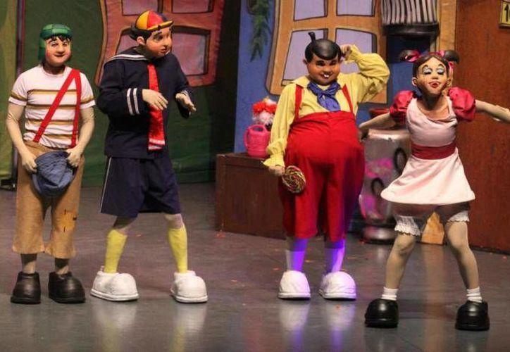 La obra de teatro El Chavo Animado, que se presentó en Mérida en mayo de 2011. (SIPSE)