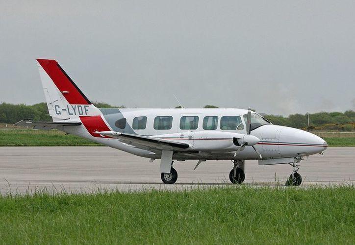 La avioneta siniestrada en Chiapas es de este modelo: Piper PA-31 Navajo. (airplane-pictures.net)