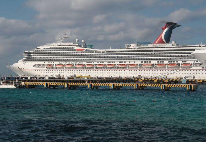 Los cruceros Carnival eligieron Cozumel para organizar conciertos para sus pasajeros dentro del navío.  (Julian Miranda/SIPSE)