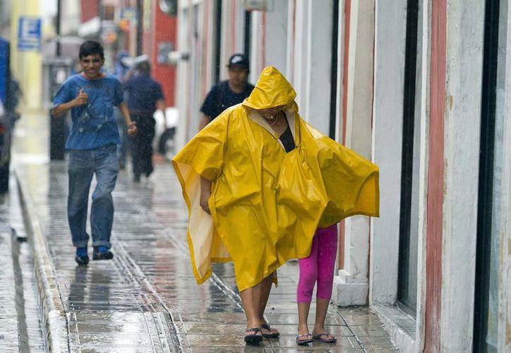 El Servicio Metereológico Nacional pronosticó que su el Frente Frío 10 ocasionará lluvias fuertes a muy fuertes en el oriente, sur y sureste del país, este lunes. (Archivo Notimex)