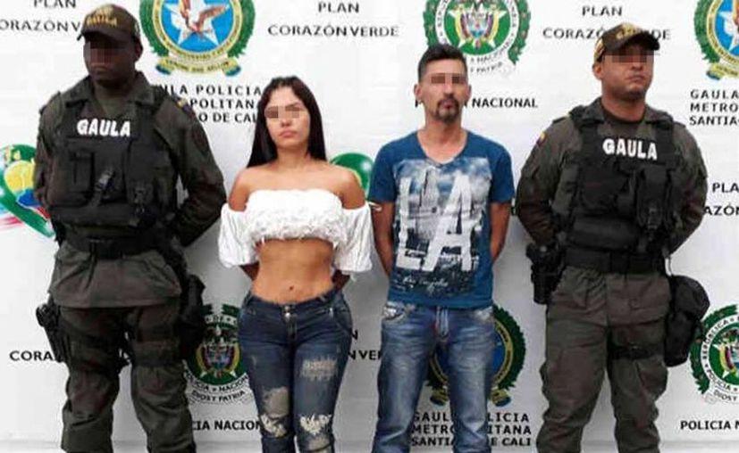La modelo participó en el plagio del comerciante Hugo López y del abogado Milton Caro. (Foto: Internet)