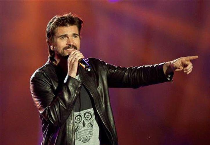 El colombiano Juanes será uno de los artistas importantes que se presentarán en el evento de hoy por la noche.(EFE)