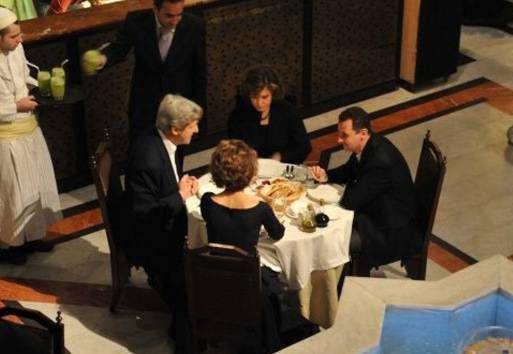 Kerry consideraba a Siria un actor clave para la estabilidad en la zona. (RT)
