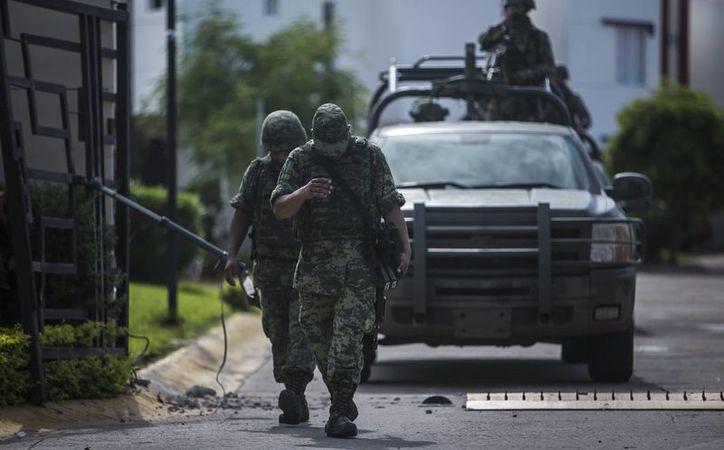 La muerte de cinco soldados tras una emboscada en Sinaloa representa un duro golpe para el Ejército mexicano. (AP/Rashide Frias)
