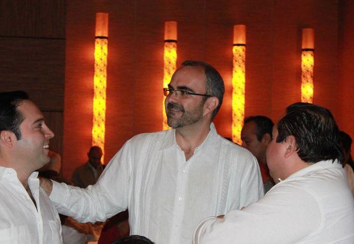 Sergio Peralta dijo que el Grupo Vinte lleva cuatro años en el estado. (Adrián Barreto/SIPSE)