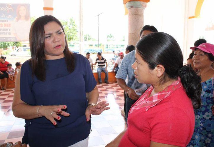 La senadora panista Rosa Adriana Díaz Lizama será secretaria de la mesa directiva junto con el perredista Miguel Barbosa Huerta. (SIPSE)