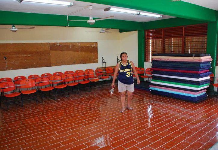 En Yucatán hay más de tres mil sitios que pueden servir como refugios temporales en caso de huracán. (Archivo/Sipse)