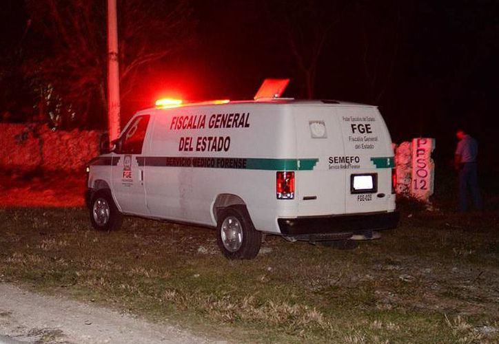 La autopsia realizada por el Servicio Médico Forense confirmó que la causa de la muerte de ambos, fue asfixia por suspensión. (SIPSE)
