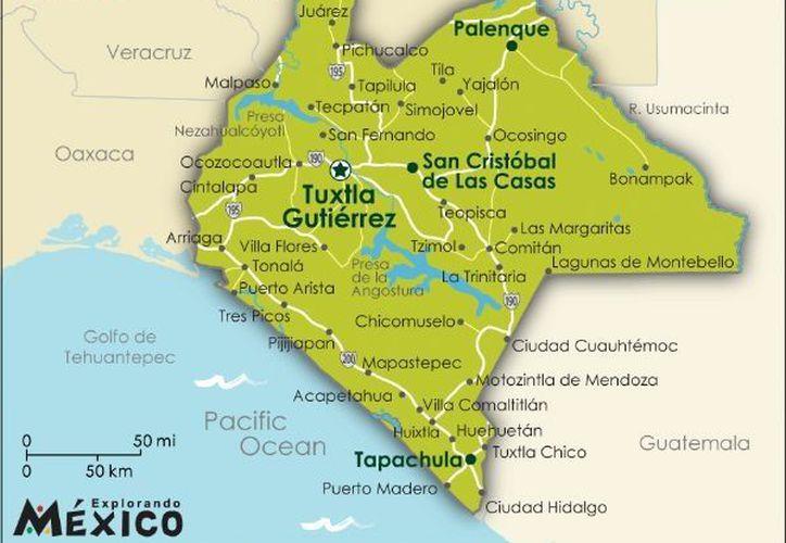 El sismo de 5.3 grados en Chiapas no dejó lesionados ni daños considerables. (www.explorandomexico.com.mx)