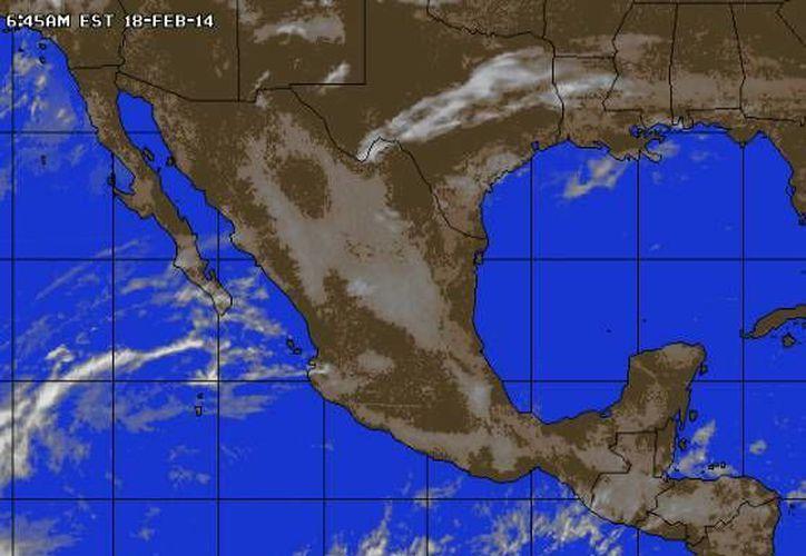 Se pronostica una temperatura máxima de 34 grados centígrados y una mínima de 22. (Foto/accuweather.com)