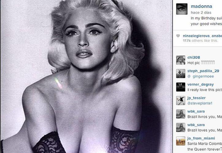 La cantante prepara su nuevo álbum discográfico. (Instagram Madonna)