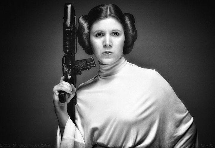 La actriz encarnó a la icónica princesa Leia desde la primera película de Star Wars. (Antena 3)