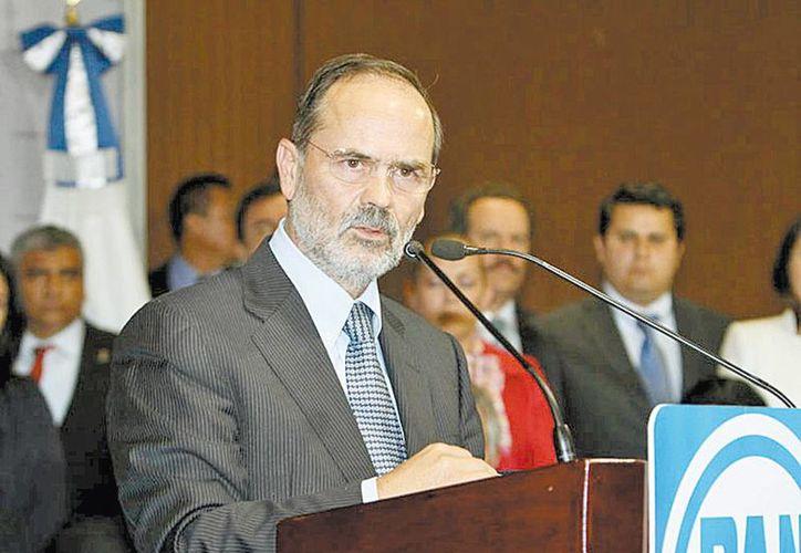 Gustavo Madero destacó esfuerzos por la transparencia en el PAN. (Milenio Novedades)