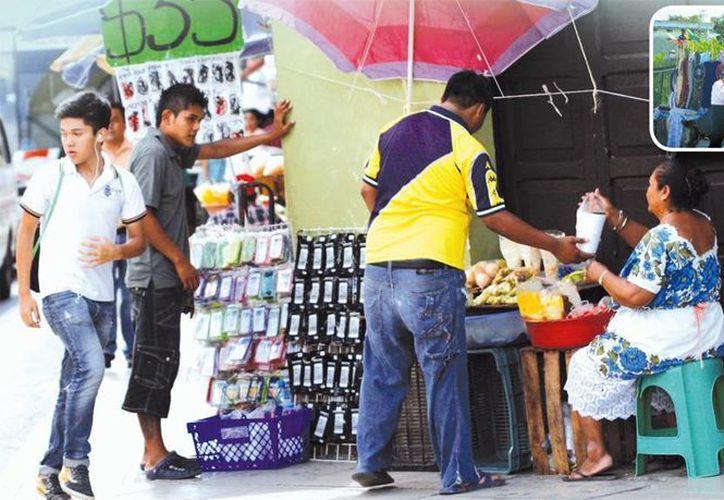 Auguran incremento de la venta ilegal y ambulantaje. (Milenio Novedades)