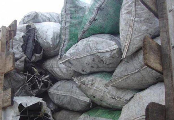El fin de los productos decomisados es la donación a personas que viven en zonas vulnerables. (Redacción/SIPSE)