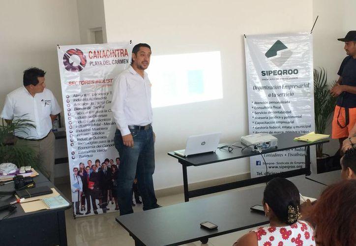 La Canacintra impulsa proyectos de productos que ofrecen un valor agregado. (Adrián Barreto/SIPSE)