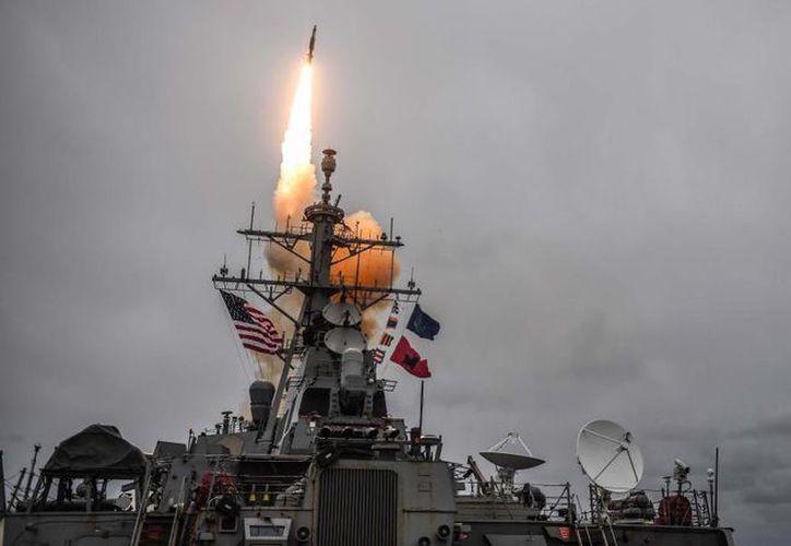 La ofensiva se dirigiría contra blancos militares del régimen sirio. (US Navy)