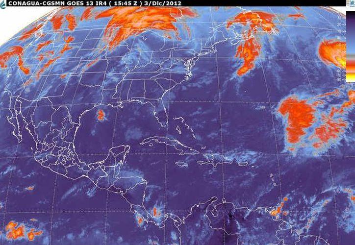 Soplarán vientos del este y noreste de 20 a 40 km/h. (smn.cna.gob.mx)