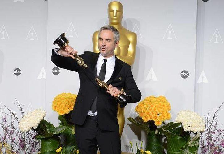 Alfonso Cuarón es el primer realizador latinoamericano en recibir un Oscar a la Mejor Dirección. (Archivo/AP)
