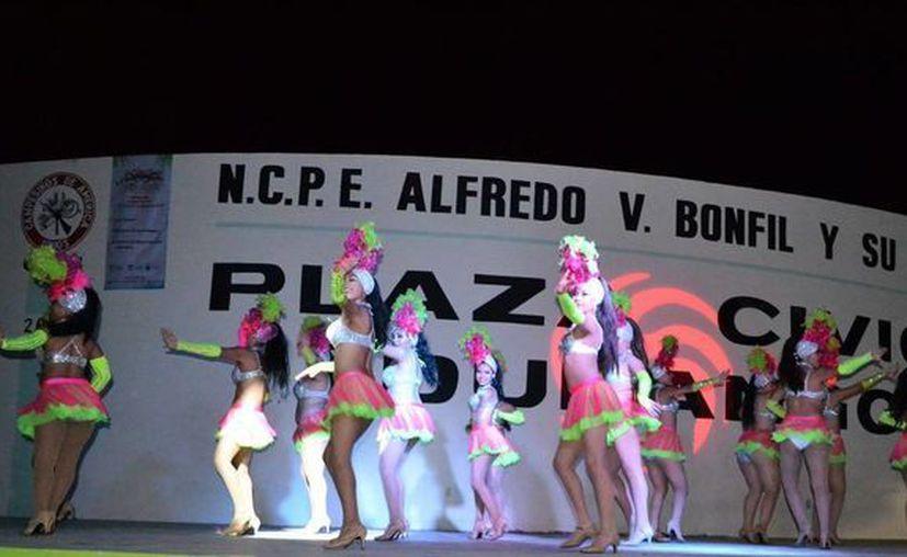 """El tres de febrero el Carnaval de Cancún """"Selva y Mar"""" continuará con sus presentaciones promocionales. (Foto: Redacción/Cortesía)"""