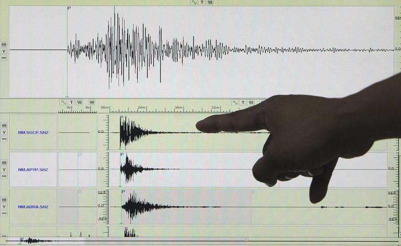 El temblor se registró a las 14.40 hora local (20.40 GMT) y su epicentro se localizó en alta mar a 101 kilómetros al suroeste del balneario Boca del Padre de Ramos, en el océano Pacífico. (EFE/Archivo)