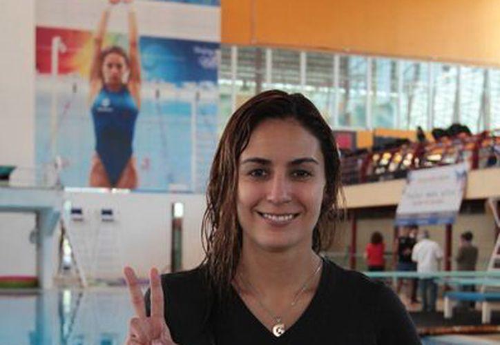 Paola Espinosa(foto), máxima ganadora de México en la historia de los Juegos Panamericanos, buscará en Toronto seguir cosechando medallas. (Notimex)