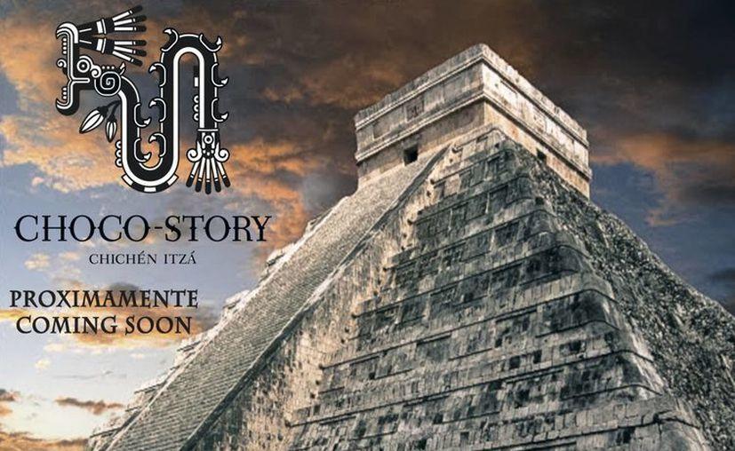 Cartel promocional del Choco Story Chichen Museo. (ecomuseodelcacao.com)