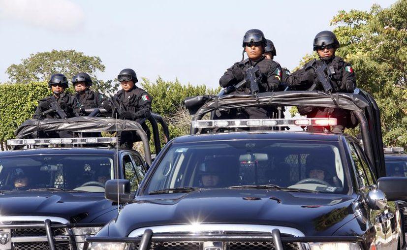 El Ejecutivo estatal espera fortalecer los cuerpos policiacos. (SIPSE)