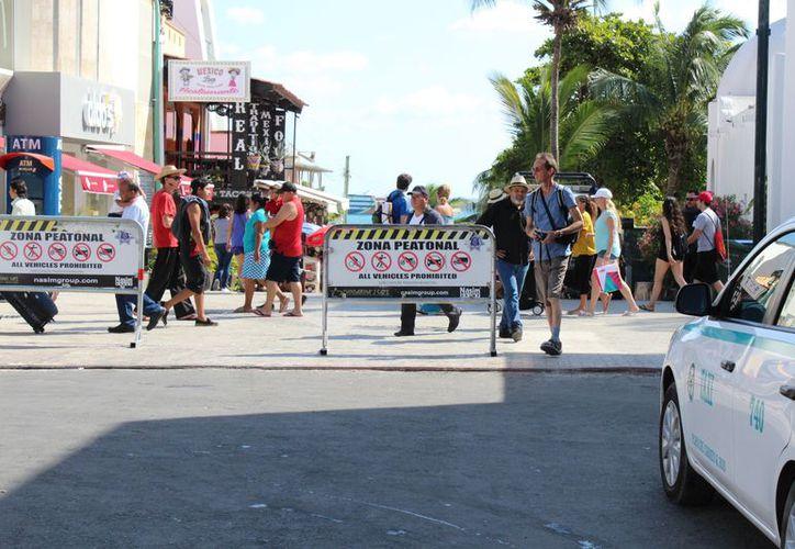 Las autoridades apostarán por una ciudad un poco más peatonal en el centro. (Adrián Barreto/SIPSE)