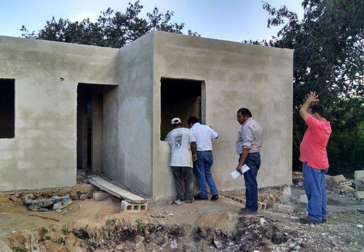 Las casas de la Ivey están en su última fase de construcción. (Milenio Novedades)