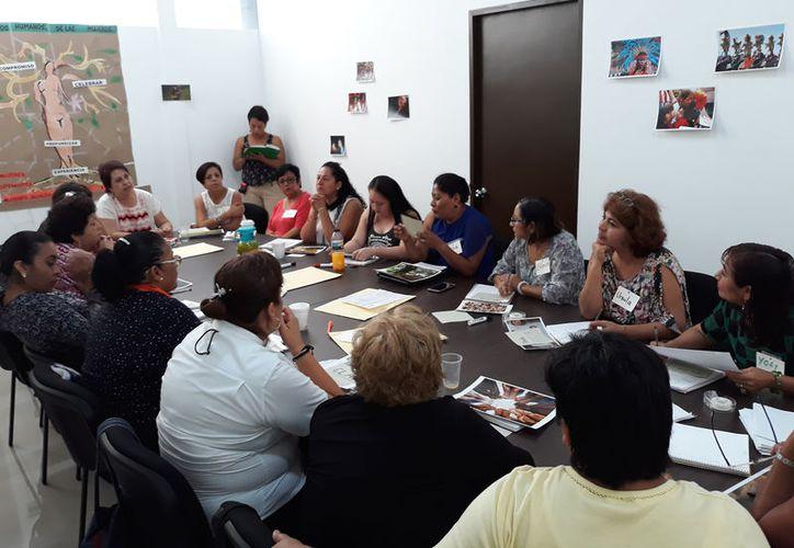 """El taller  es parte de la """"Red de mujeres promotoras por la igualdad y los derechos humanos"""". (Foto: Redacción)"""