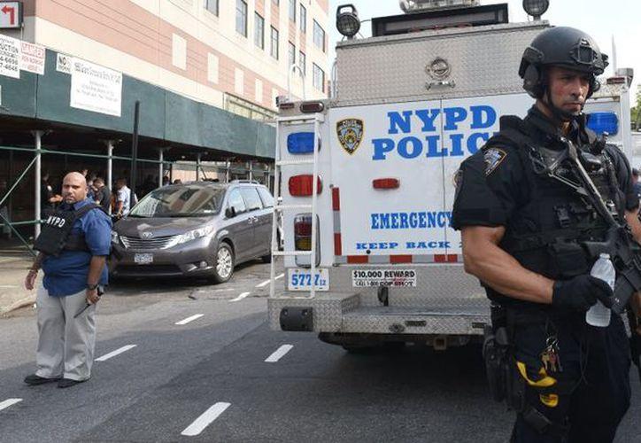 El tiroteo en un hospital de Nueva York ocurrido ayer, dejó como saldo dos muertos y seis heridos.  (Animal Político)