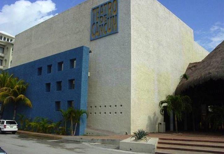 """El Teatro de Cancún ubicado en la zona hotelera recibe la obra """"Jesucristo Superestrella"""". (Foto de Contexto/INTERNET)"""