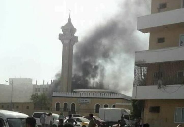 Un terrorista suicida ha detonado un vehículo lleno de explosivos. (Twitter).