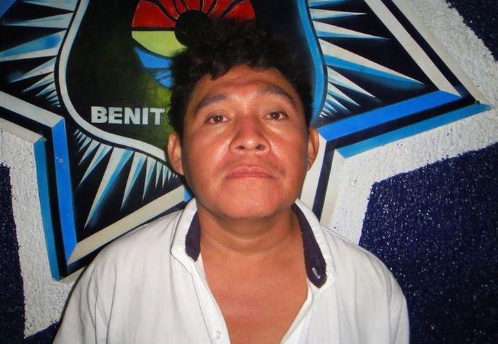 José Reyes Yam Uh, de 36 años. (Redacción/SIPSE)