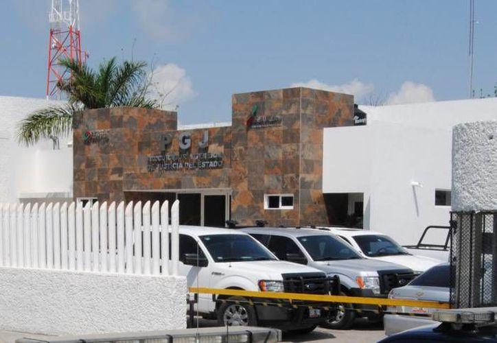 El sujeto puesto a disposición de la Secretaría Municipal de Seguridad Pública y Tránsito. (Redacción/SIPSE)