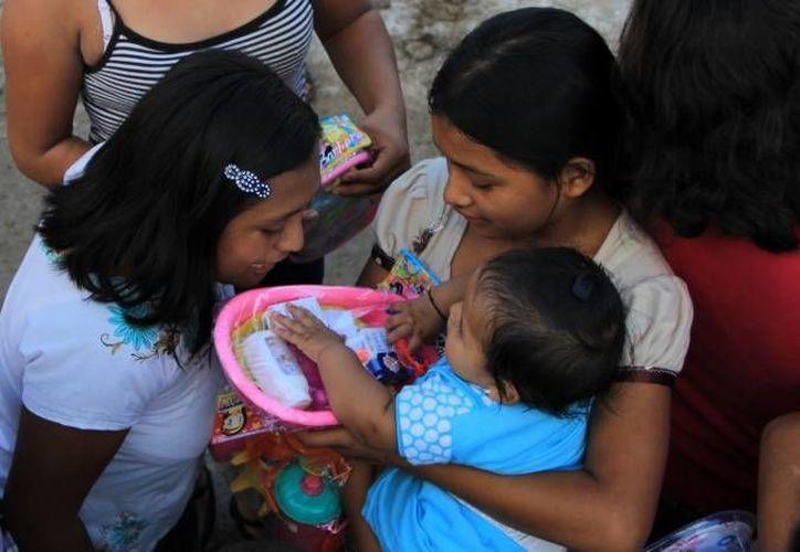 Niños de varias comunidades serán beneficiados en el marco del Día del Niño. (Milenio Novedades/Archivo)
