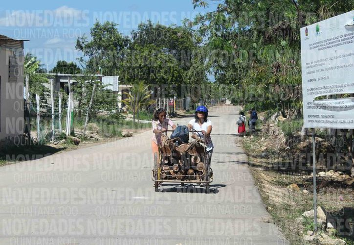 Los habitantes de las comunidades rurales carecen de agua potable. (Joel Zamora/SIPSE)