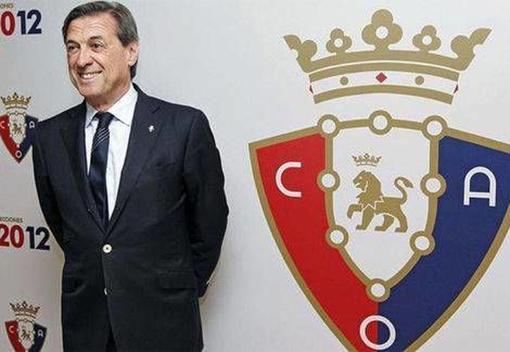 Es probable que Miguel Archanco, expresidente del club Osasuna, así como dos directivos más, sean presentados ante un juez en un plazo de 24 horas. (Foto tomada de Milenio)