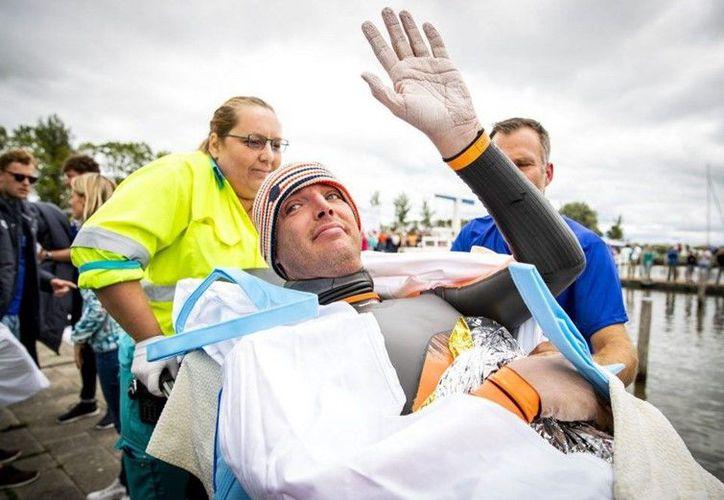 Maarten Van Der Weijden sufrió severas consecuencias en sus manos y pies. (Internet)